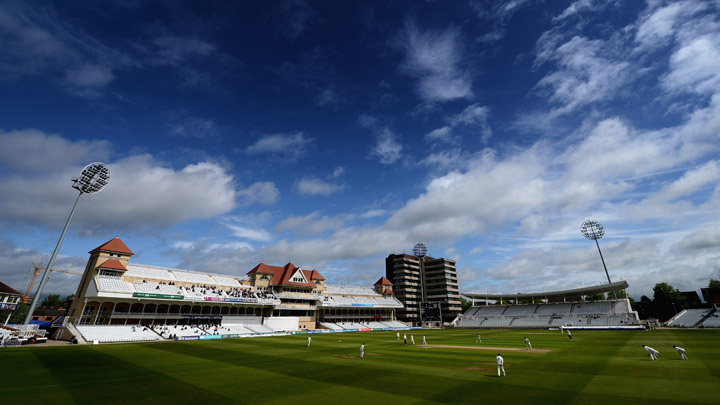 Trent Bridge - web design